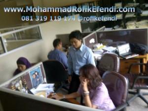 Mengajar Microsoft Office di Elzha Syarif Law 2